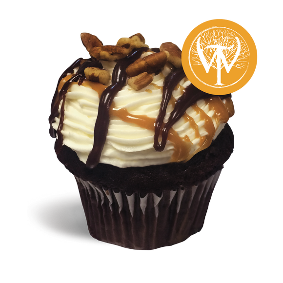 SD Wilderness Trail® Bourbon Ball Cupcake