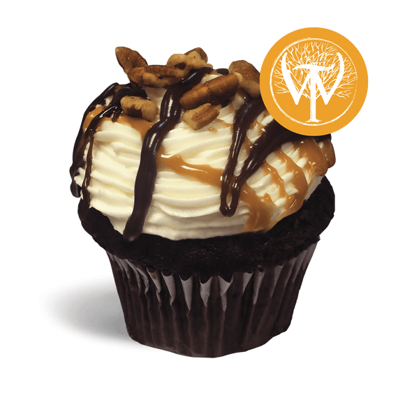 Wilderness Trail® Bourbon Ball Cupcake