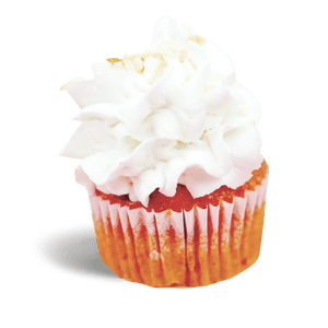 Strawberry Piña Colada Cupcake