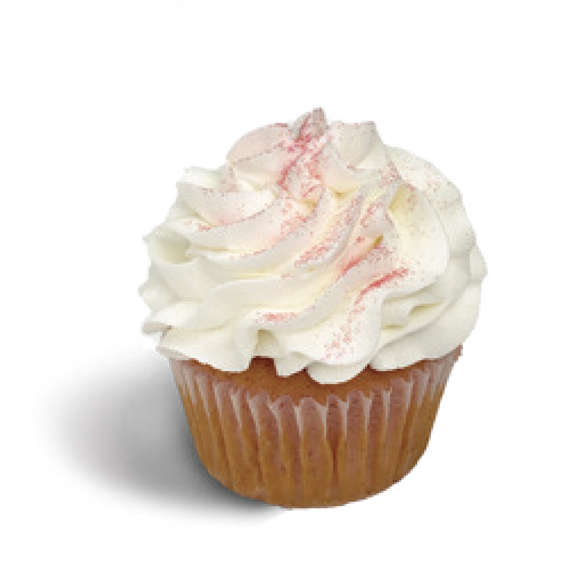 SD White Chocolate Raspberry Cupcake