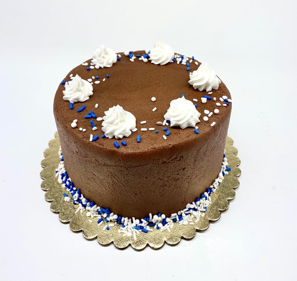 "RR 6"" DECORATIONS VARY Chocolate / Chocolate Cake"