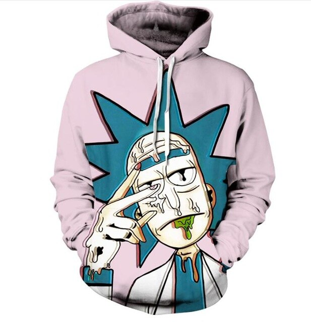 Rick and Morty 3D hoodies Pullovers