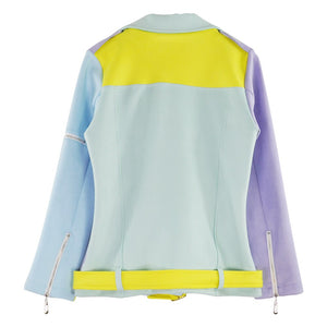 Multicolor Spliced Jackets