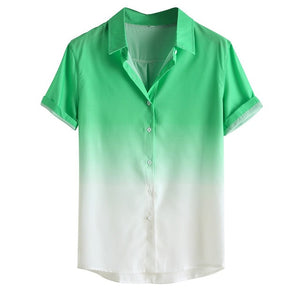 Men's shirts camisa Gradient