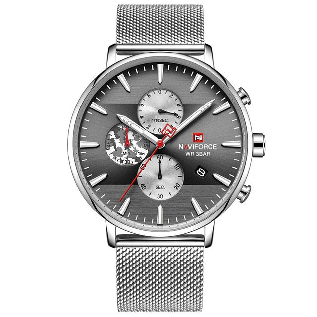 Relojes NAVIFORCE Silver Grey