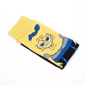 Funny Cartoon Socks Bob