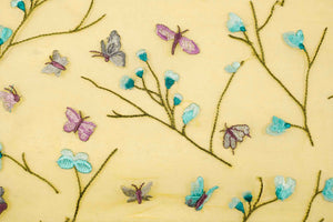 Butterfly Jaal On Silk Organza