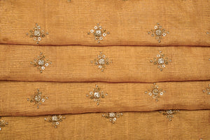 Sequin Buti on Tussar Silk