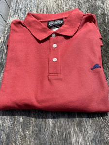 Men's Vineyard Map Polo Shirt