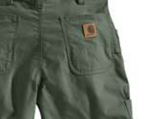 Men's Canvas Work Short