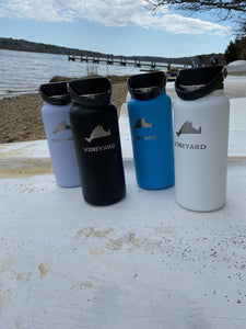 32 oz Wide Mouth Hydroflask MV Map