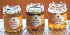 TheraBee Culinary Honey in The Tribune. Photo by DAVID MIDDLECAMP