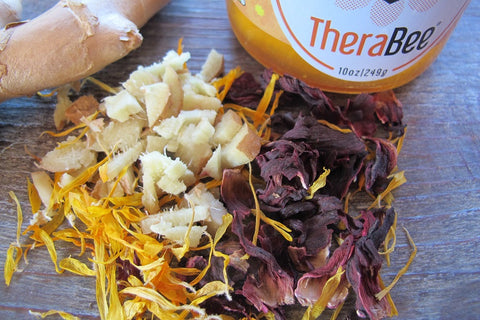 TheraBee Culinary Infused Honey - Ginger Hibiscus