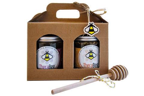 Gift Set - Raw & Infused Honey