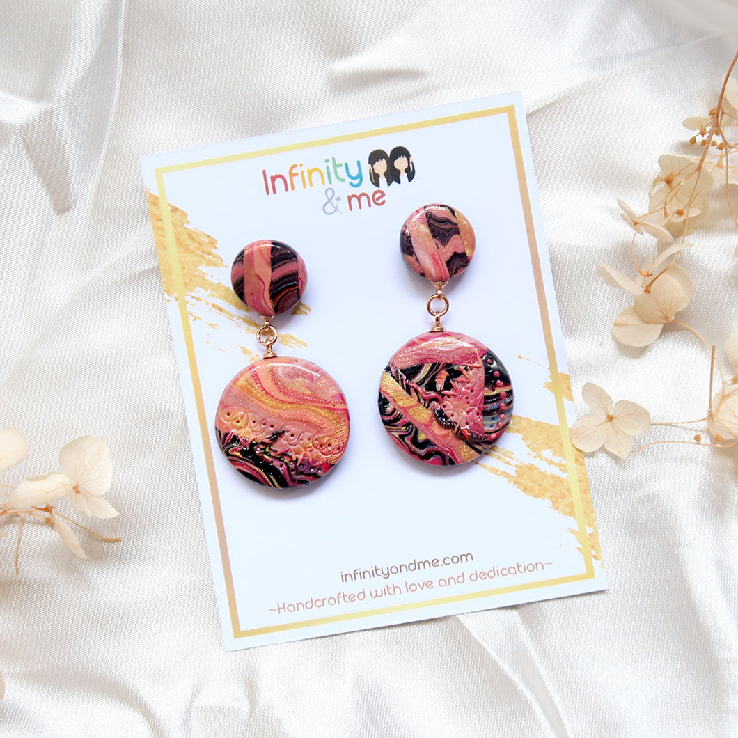 Mystique Coral Earrings