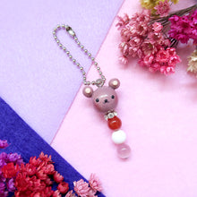 Load image into Gallery viewer, Little Animals Keychain Brown bear