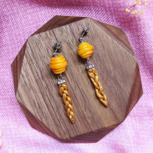 Honeycomb Braids Earrings