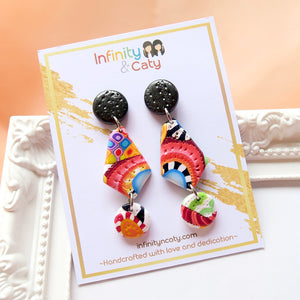 Color Fiesta 2.0 Earrings - Aurelia