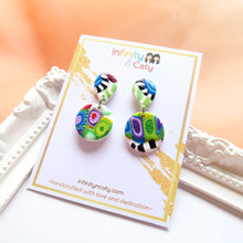 Load image into Gallery viewer, Color Fiesta 2.0 Earrings - Olive