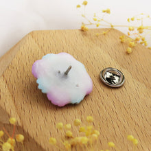 Load image into Gallery viewer, Handmade polymer clay earrings Singapore - Floral Pin