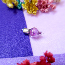 Load image into Gallery viewer, Lavender Mystique Resin Pendant