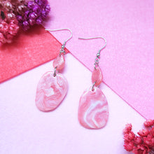 Load image into Gallery viewer, Marble Love Earrings