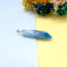 Load image into Gallery viewer, Ocean Blue Resin Pendant