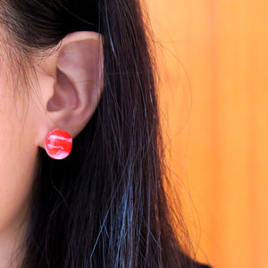 Abstract Red Stud