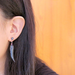 Black Ivory Earrings