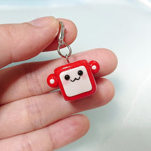 Load image into Gallery viewer, *Pre-order* Square Face Monkey Charm