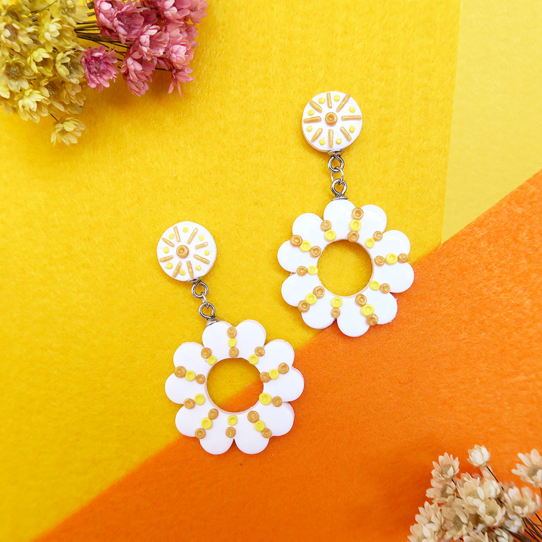 Sundial Floral Earrings