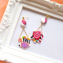 Load image into Gallery viewer, Candy Block Earrings