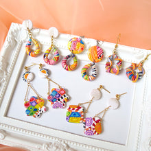 Load image into Gallery viewer, Mix Candy Block Earrings