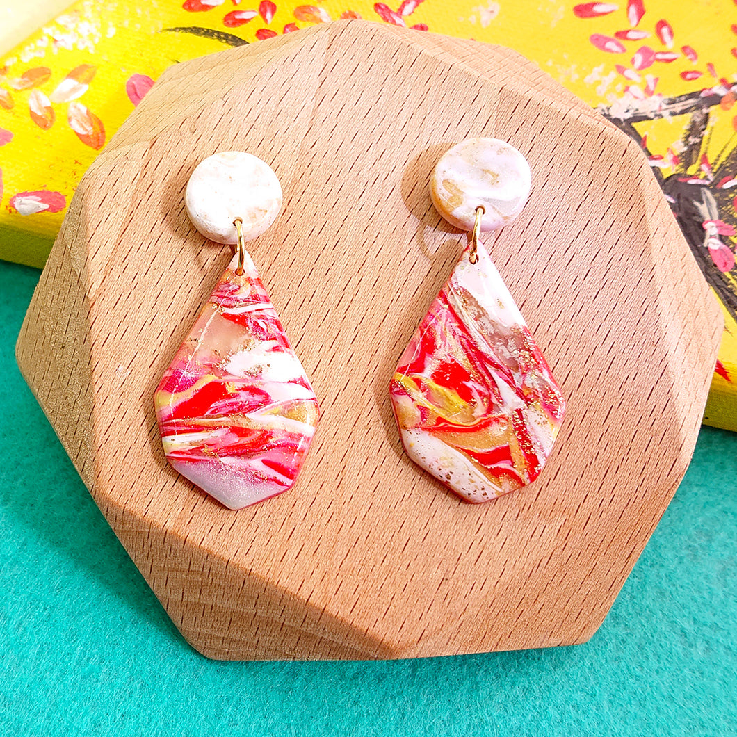 Earrings - Prosperity Color Collection - Lunar New Year 2021