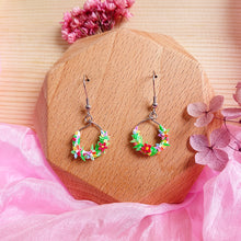 Load image into Gallery viewer, Floral Fantasy Earrings