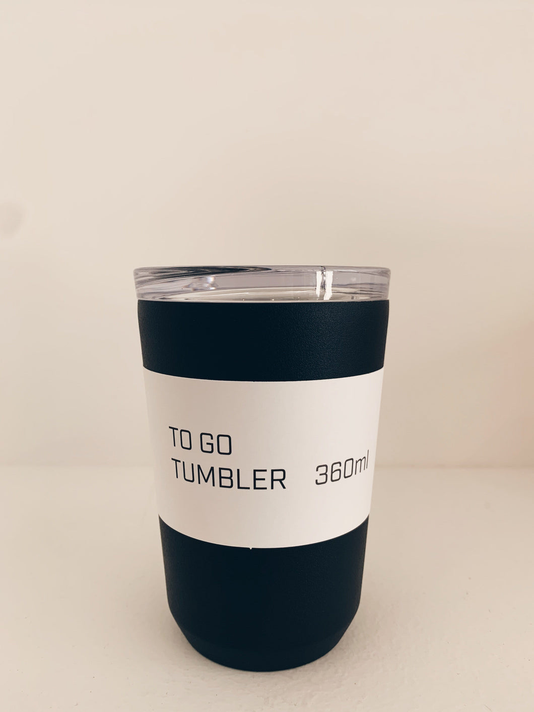 To go Tumbler Noir 360ML - KINTO