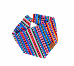Essence of Peru Bandana - Blue