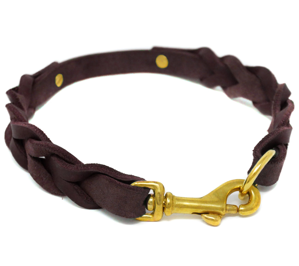 Pure Leather Halsband