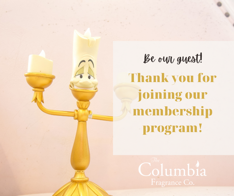 Thank you for joining our membership program