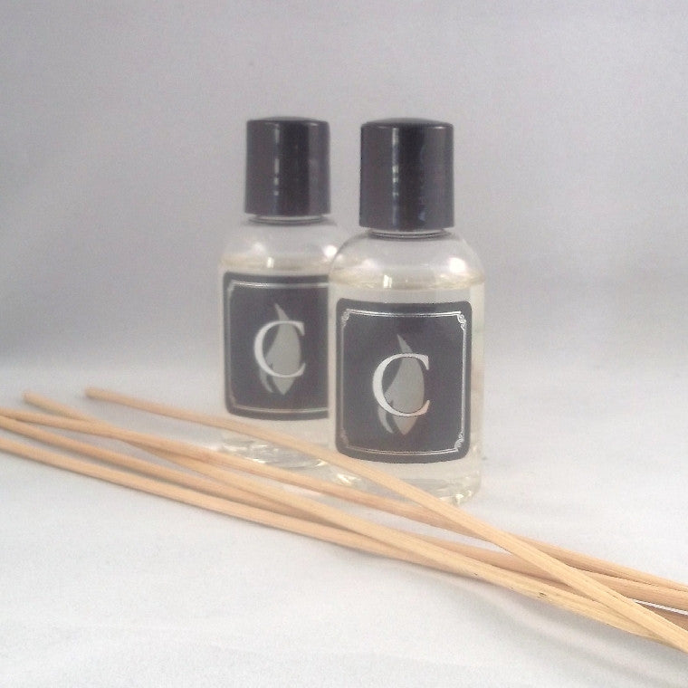 Honeysuckle and Peach Honeysuckle and Peach diffuser oil, 2 oz refill, Unknown - Craftyzke, The Columbia Fragrance Co.  - 3