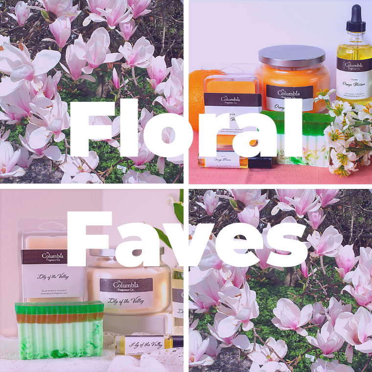 Floral Faves scent set - The Columbia Fragrance Co.