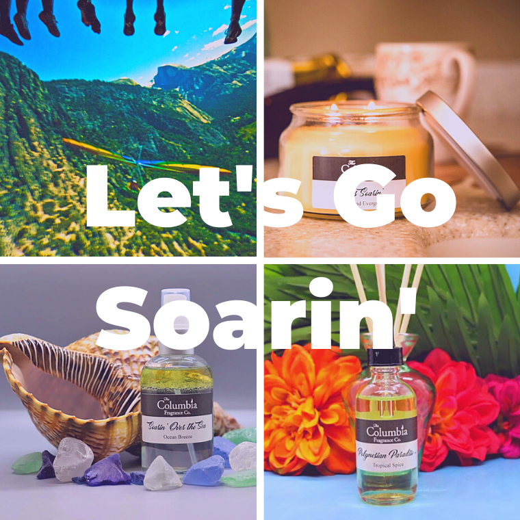 Let's Go Soarin' scent set - The Columbia Fragrance Co.