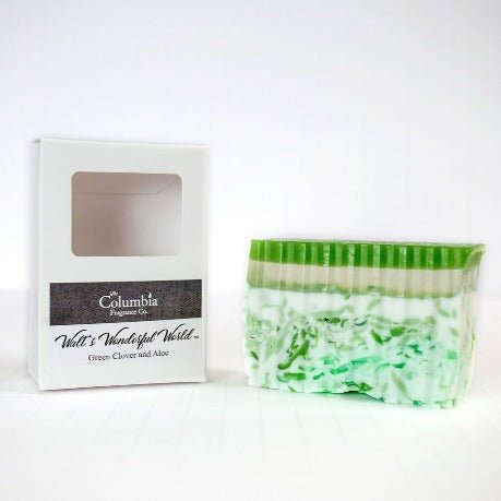 Walt's Wonderful World (Green Clover and Aloe)  soap - The Columbia Fragrance Co.