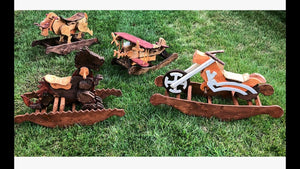 Wooden Rocking Animals