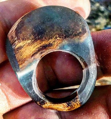 Oak Wood Ring