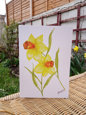 Daffodils Card by Guan - Home(less) Made