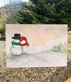 Snow Love Card by Guan - Home(less) Made
