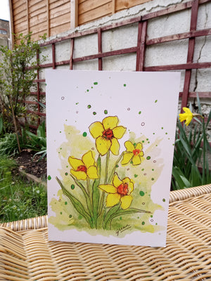 Spring Bouquet Card by Guan - Home(less) Made