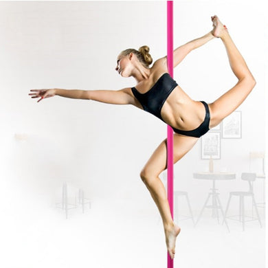 Barre de Pole Dance Rotative en silicone