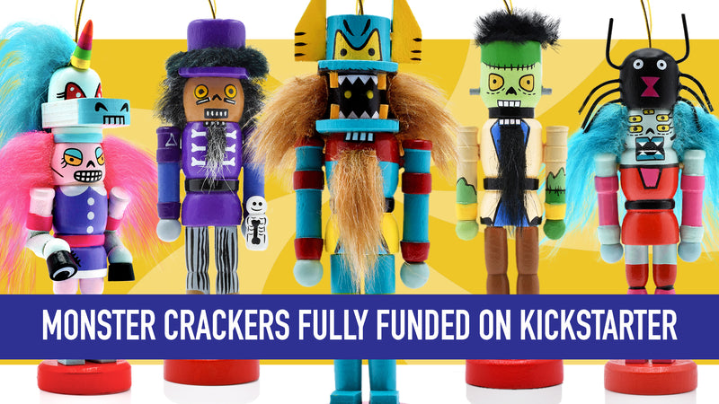 Monster Crackers: Christmas Ornaments Celebrating Diversity Campaign Funded